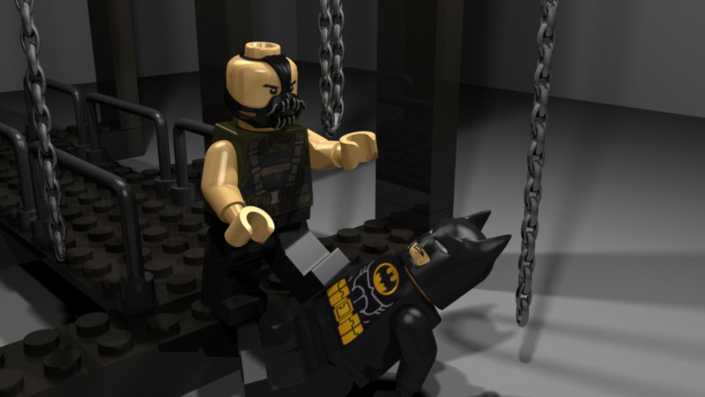 Dark Night Lego Early Lighting