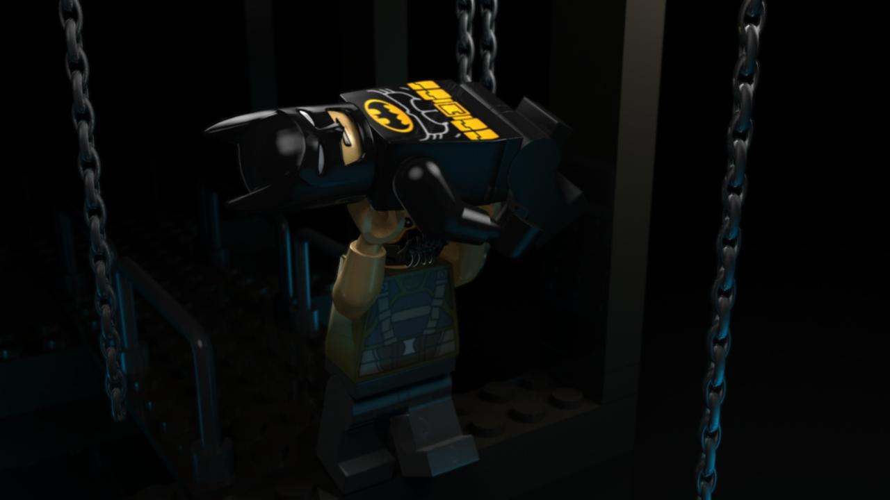 Batman Lego Bane Back-Breaker