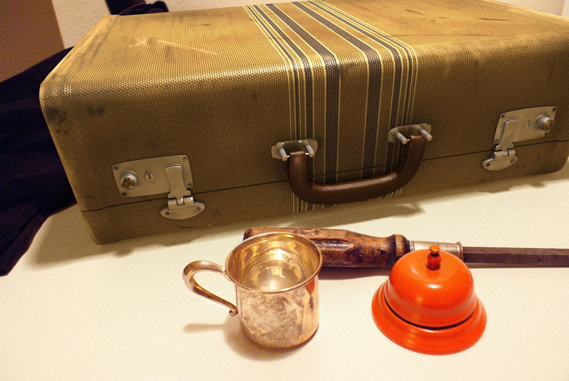 Final Suitcase Composited Into Scene