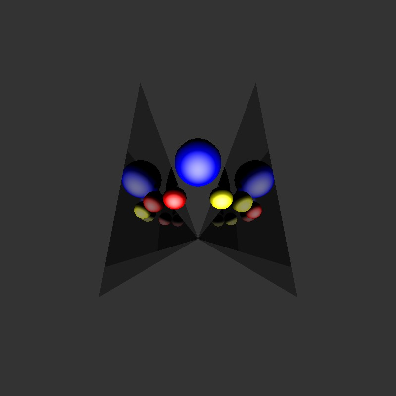 ray-tracer reflection integrity test